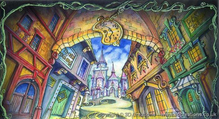 Castle Interior Design Set land of make believe  3d creations