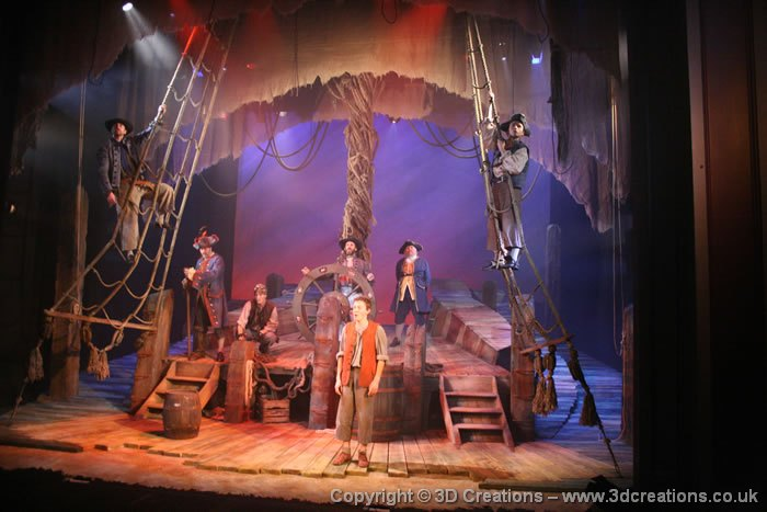 Treasure Island Birmingham Stage Company 3d Creations
