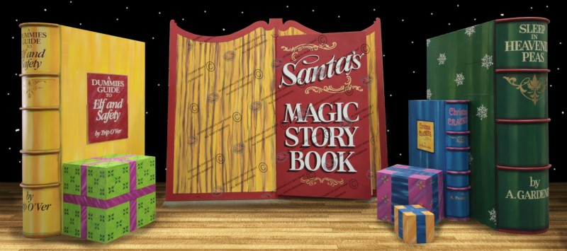 Santa's Magic Story Book