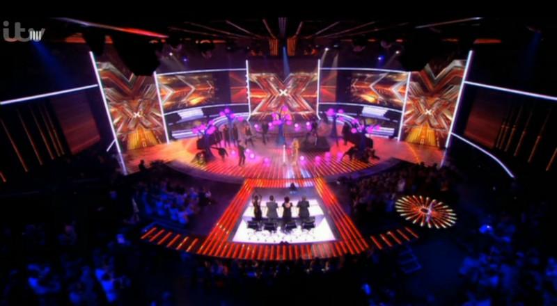 Ellie Goulding X Factor Trees