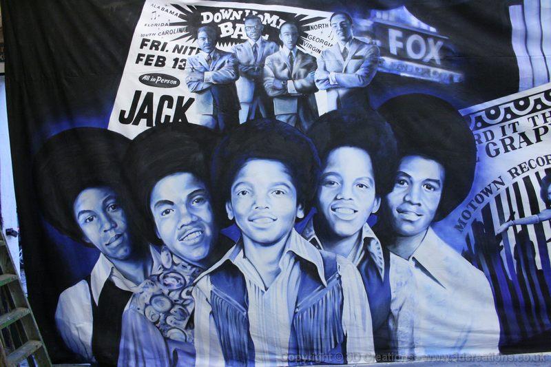 Motown Backdrops