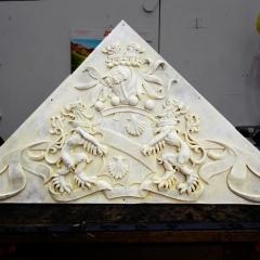 COA2 cast of coat of arms
