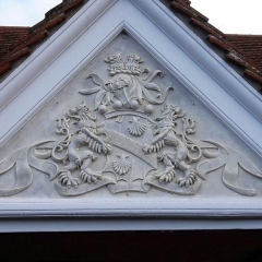 COA3 Installed coat of arms