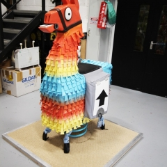 Fortnite llama prop for #gamecom2017 (1)