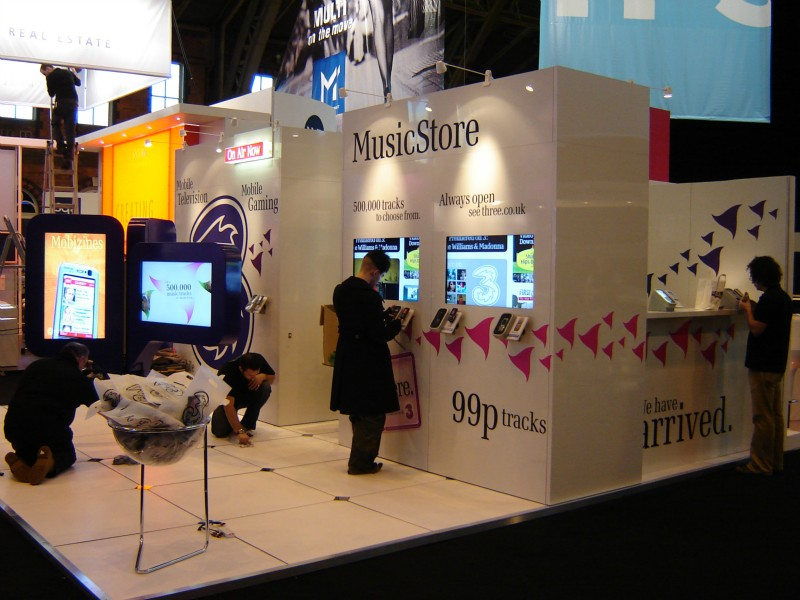 Exhibition Stand Design And Build Uk : Mobile exhibition stand design build d creations