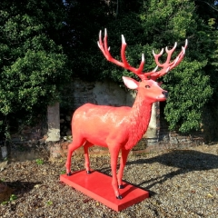 Jim-Beam-Red-Stag-corporate-events-prop-making-hand-painted-1-