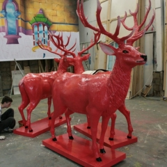 Jim-Beam-Red-Stag-corporate-events-prop-making-hand-painted-2-