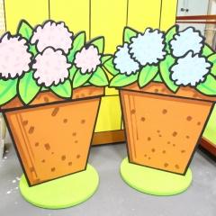 Dear Zoo - Plant pots
