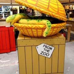 Dear Zoo - Snake basket & Crate
