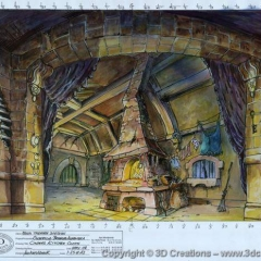 160309-Ian-Westbrooks-design-for-Cinderellas-Kitchen-cloth