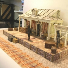 Cat-Stevens-Peace-train-late-again-tour-Model-Box-with-various-floor-concepts-3-