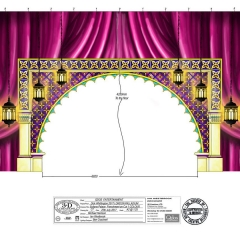 Dick Whittington Design - Sultans Palace Frenchmen Cut No1