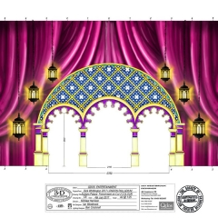 Dick Whittington Design - Sultans Palace Frenchmen Cut No2