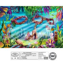 Dick Whittington Design - Underwater Kabuki