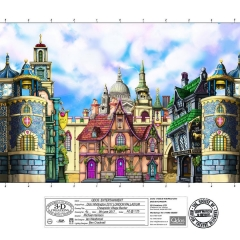 Dick Whittington Design - Street in London Village backer
