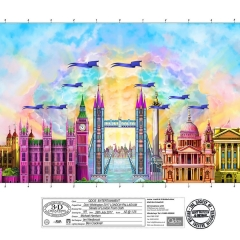 Dick Whittington Design Streets Of London Frontcloth