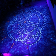 Star-Factory-stage-Floor-design-cruse-ship-hand-pained-UV
