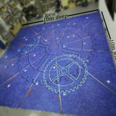 Star-Factory-stage-Floor-design-cruse-ship-hand-painted