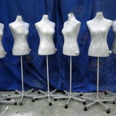 Glittered-Tailor-dummies