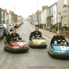 Fun-Fair-Dodgems-at-3D-CREATIONS-the-new-company-cars-009