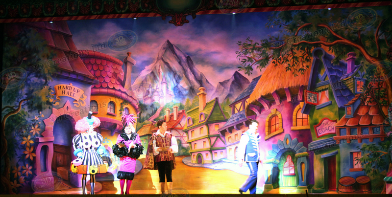 Cinderella Pantomime Southend Cliff Pavillion 3d Creations