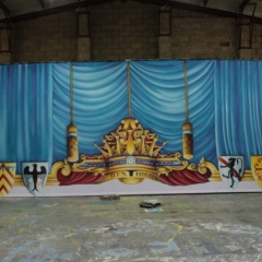 Finale-2013-Snow-White-Theatre-Sets-Props-Scenery-Hand-painted-Design-Backcloths-in-workshop-2-