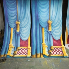 Finale-2013-Snow-White-Theatre-Sets-Props-Scenery-Hand-painted-Design-Backcloths-in-workshop-3-