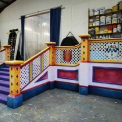 Finale-Stairs-2013-Snow-White-Theatre-Sets-Props-Scenery-Hand-painted-Design-in-workshop