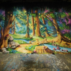Forbidden-Forest-2013-Snow-White-Theatre-Sets-Props-Scenery-Hand-painted-Design-Backcloths-in-workshop