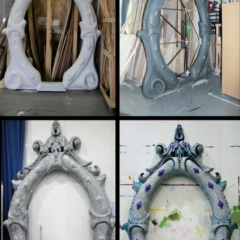 Gok-s-Mirror-2013-Snow-White-Theatre-Sets-Props-Scenery-Hand-Sculpted-painted-Design-in-workshop