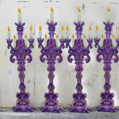 LED-Candelabra-2013-Snow-White-Theatre-Sets-Props-Scenery-Hand-painted-Design-in-workshop