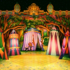 Royal-Encampment-2013-Snow-White-Theatre-Sets-Props-Backcloths-hand-painted-3-