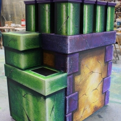 Peter Pan Finished Chimney Pots (1)
