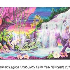 Peter Pan - Mermaid Lagoon Painted Cloth