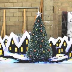 Cromer Xmas house groundrows 2016