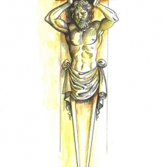 Caryatid-original-drawing