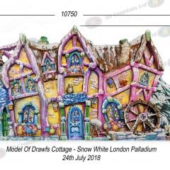 Dwarfs Cottage Model - Snow White - London Palladium 24th July 2018