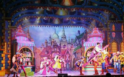 Pantomime Set Design
