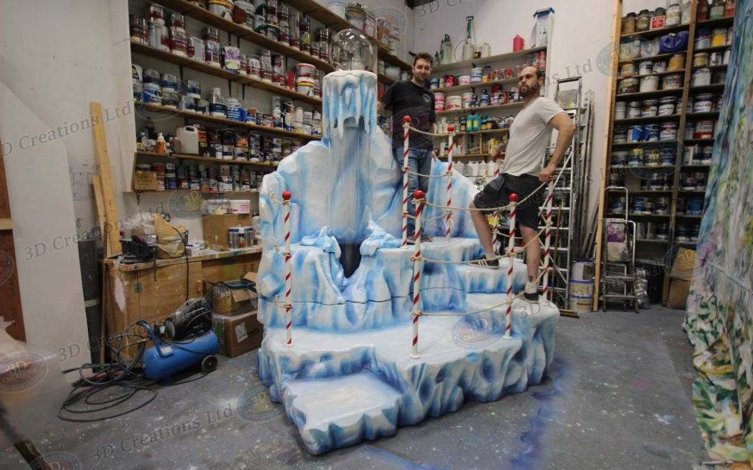 North Pole & Iceberg