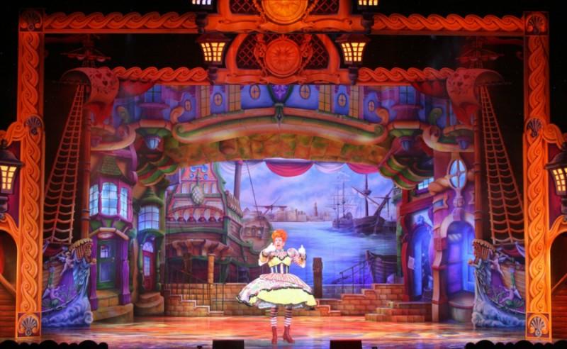Robinson Crusoe at Birmingham Hippodrome