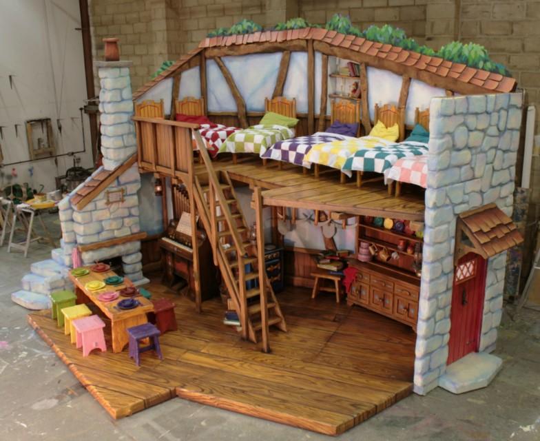 Snow White & the Seven Dwarfs at the Birmingham Hippodrome – Workshop Images