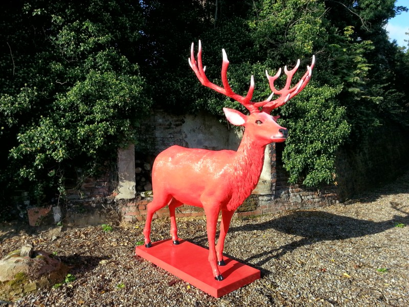 Jim Beam Red Stag event prop
